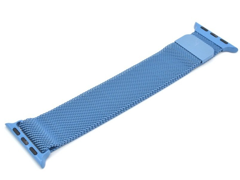 Аксессуар Ремешок Innovation для APPLE Watch 42/44mm Milanese Loop Blue 14966