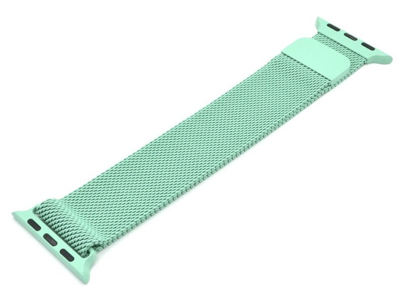Аксессуар Ремешок Innovation для APPLE Watch 42/44mm Milanese Loop Green 14962