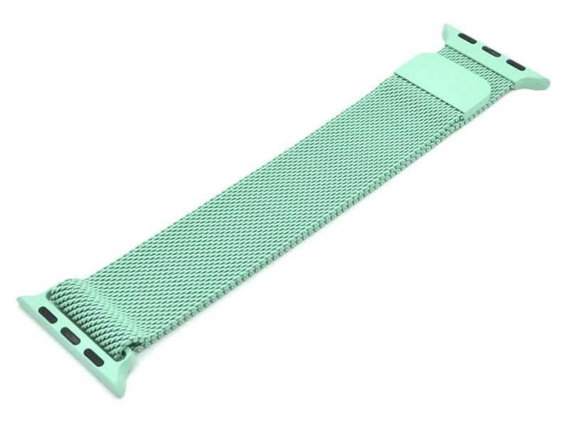 Фото - Аксессуар Ремешок Innovation для APPLE Watch 42/44mm Milanese Loop Green 14962 ремешок devia elegant series milanese loop для apple watch 4 44mm silver