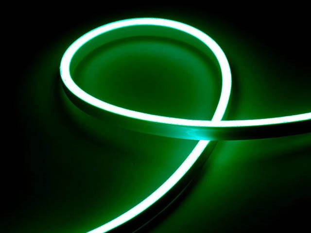 Светодиодная лента URM 2835-120led IP65 220V 10W 425LM Green 5m С26027