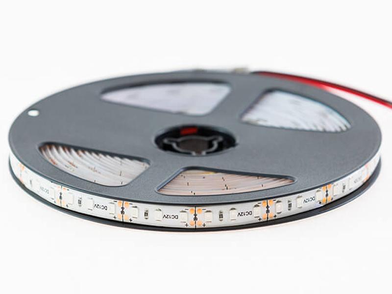 Светодиодная лента URM SMD 2835 120 LED 12V 9.6W 6800 Lm IP65 Yellow С10084