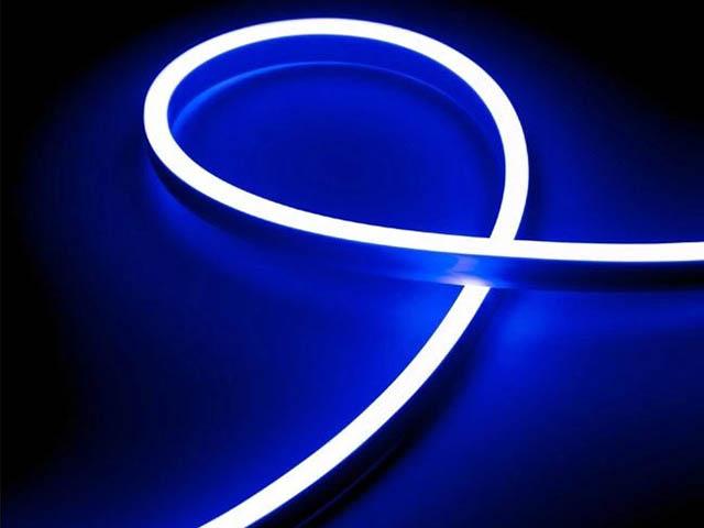 Светодиодная лента URM 2835-120led IP65 220V 10W 425Lm Blue 5m С26028