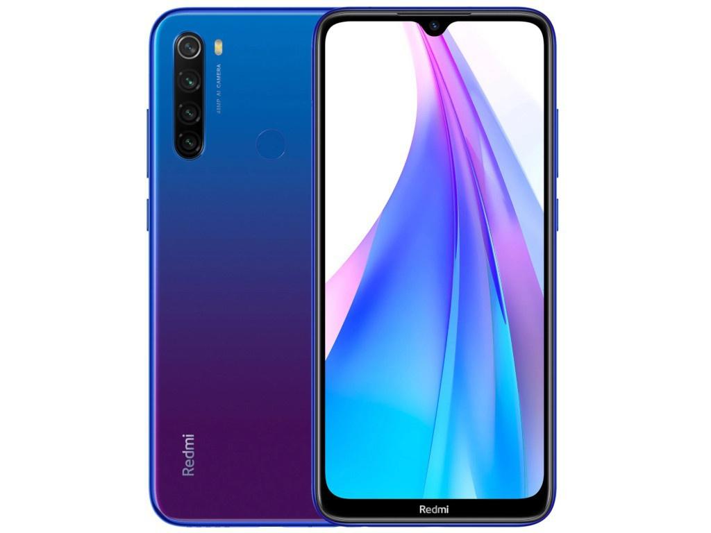 Сотовый телефон Xiaomi Redmi Note 8T 4/128Gb Starscape Blue Выгодный набор для Selfie + серт. 200Р!!! сотовый телефон xiaomi redmi note 8t 4gb 64gb starscape blue new выгодный набор серт 200р