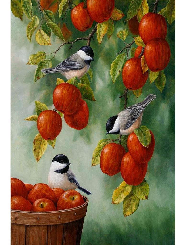 Картина по номерам Набор юного художника Molly Яблоневый сад 20x30cm KH0864