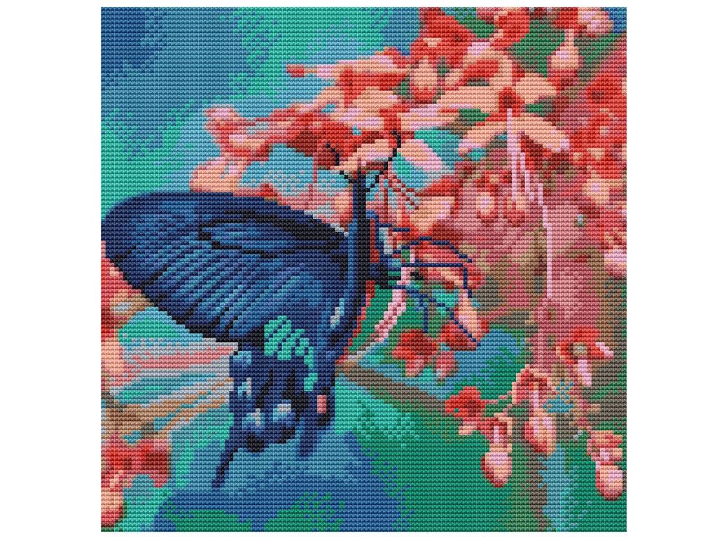 Набор для творчества Molly Картина мозаикой Вкус нектара 30x30cm KM0234