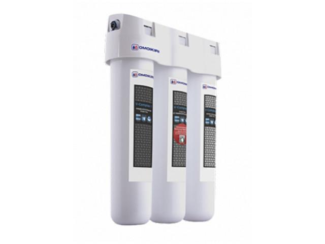 Фильтр для воды OMOIKIRI Pure drop 1.0 трехступенчатый