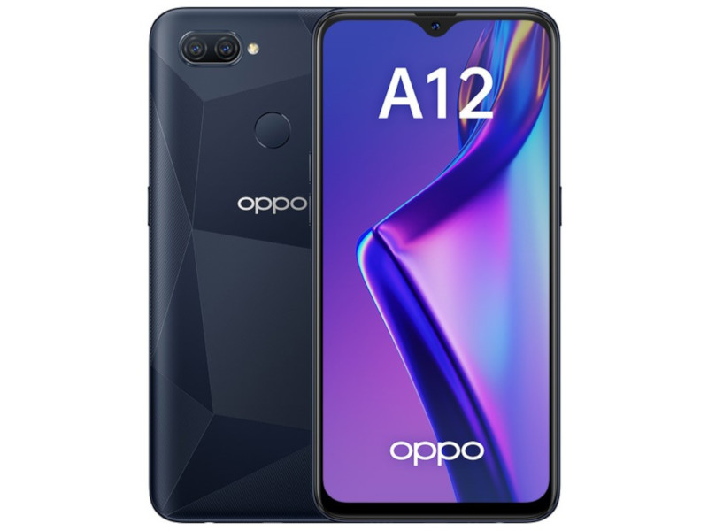 Сотовый телефон OPPO A12 Black сотовый
