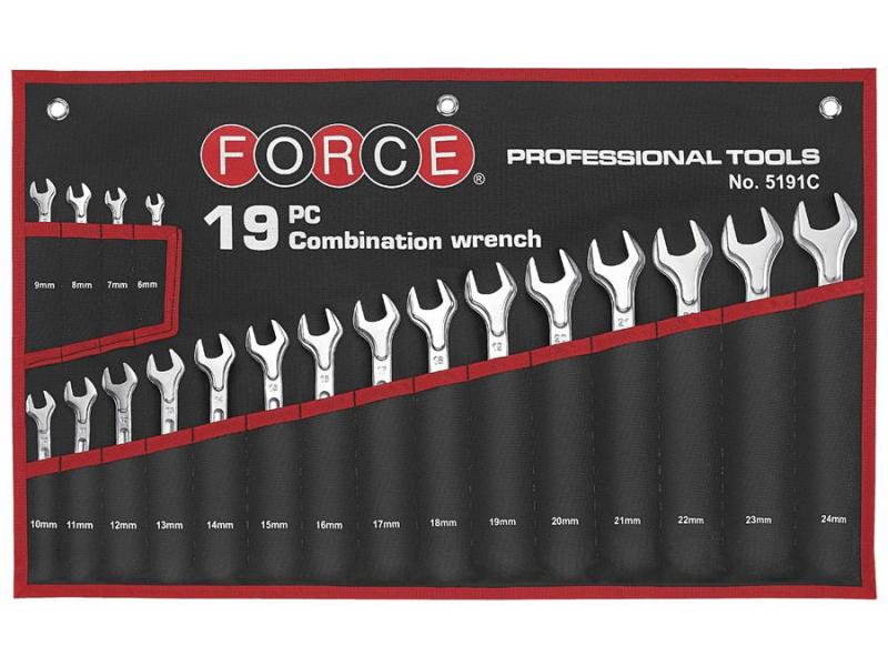 Набор ключей Force 5191C