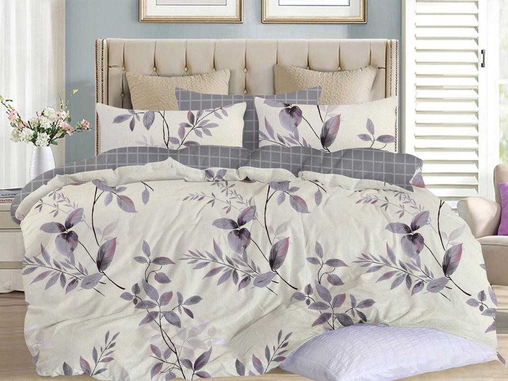 Постельное белье Cleo Satin Lux 15/521-SL Комплект 1.5 спальный Сатин