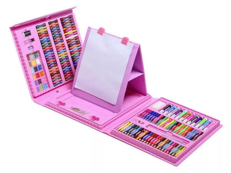 Набор для рисования ZDK Art Set 208 Pink