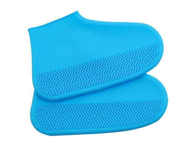 Чехлы защитные для обуви на замке ZDK размер L Blue