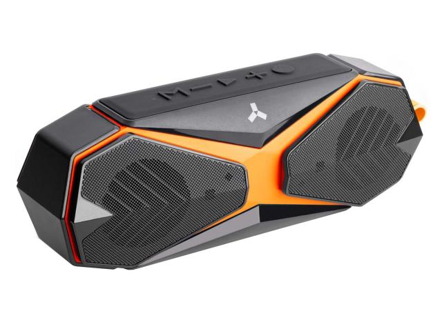Колонка AccesStyle Aqua Sport BT Black-Orange