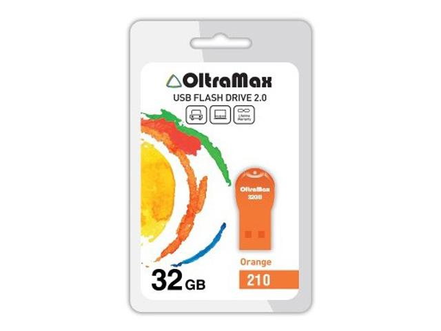 USB Flash Drive OltraMax 210 32GB Orange