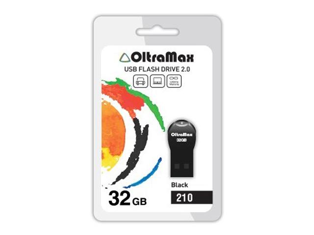 USB Flash Drive OltraMax 210 32GB Black