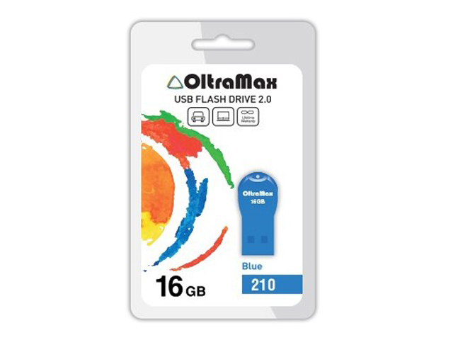 USB Flash Drive OltraMax 210 16GB Blue