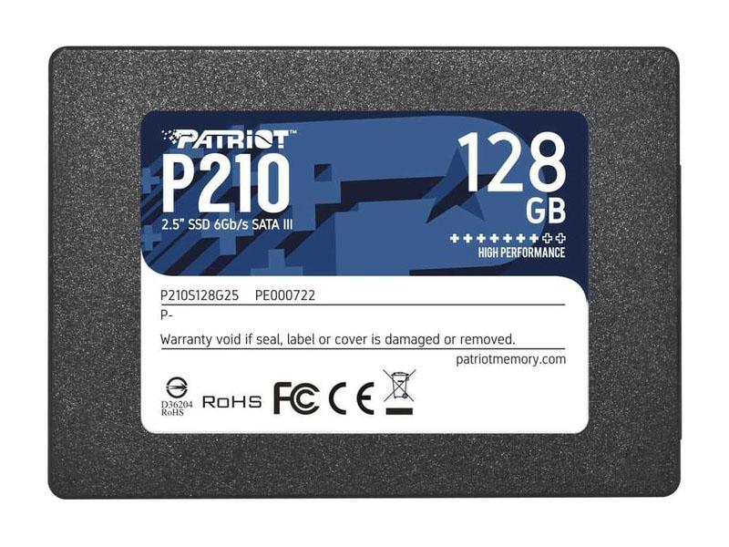 Твердотельный накопитель Patriot Memory P210 128Gb P210S128G25