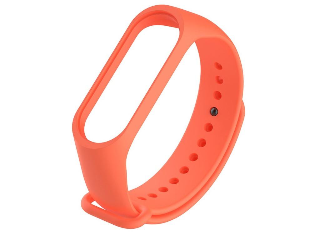 Aксессуар Ремешок Activ для Xiaomi Mi Band 3 / Mi Band 4 Silicone Orange 103175