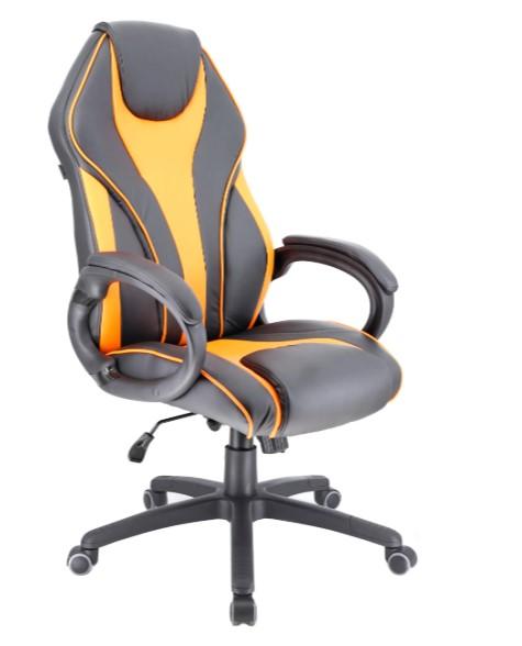 Компьютерное кресло Everprof Wing экокожа Orange