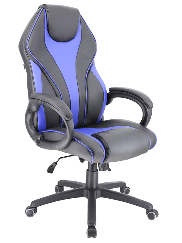 Компьютерное кресло Everprof Wing экокожа Blue