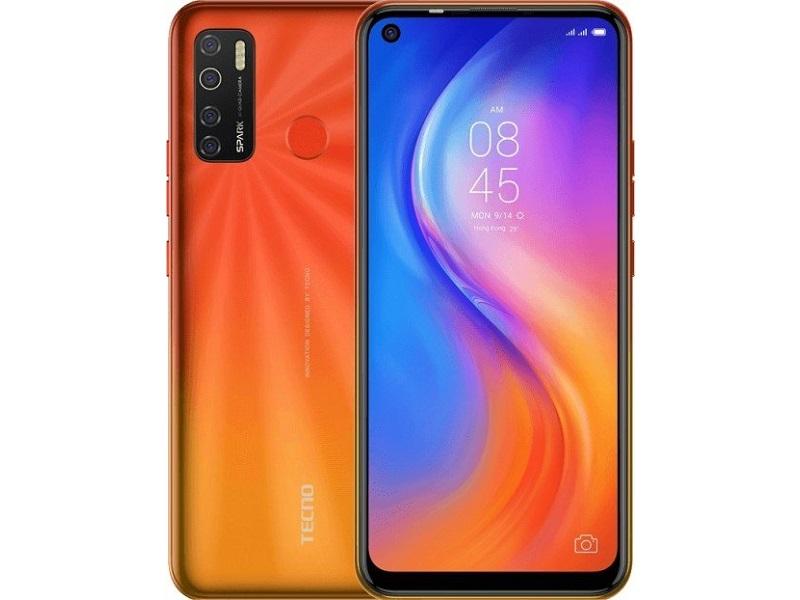 Сотовый телефон Tecno Spark 5 Orange