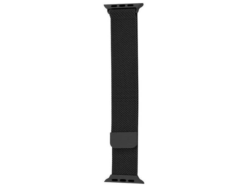 Аксессуар Ремешок Krutoff Milanese для Apple Watch 1 38/40mm Black 03294