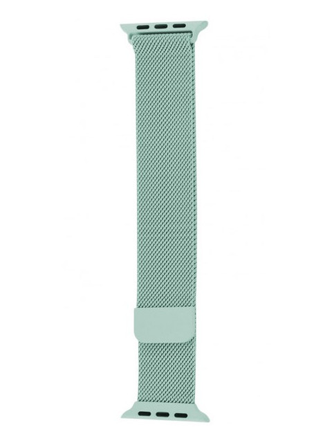 Аксессуар Ремешок Krutoff Milanese для Apple Watch G3 42/44mm Mint 03296