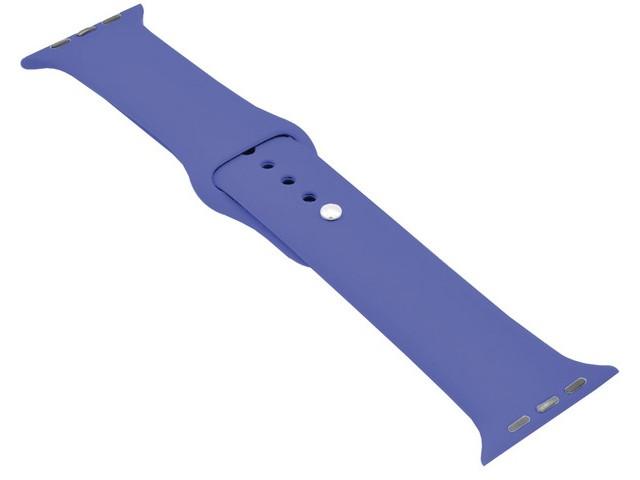 Аксессуар Ремешок Krutoff для APPLE Watch 42/44mm Silicone Royal Blue 03148