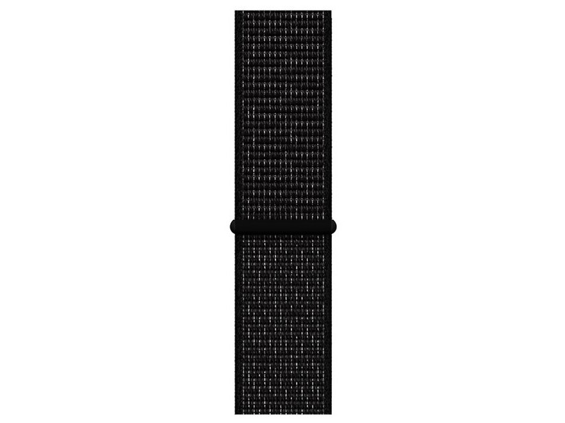Аксессуар Ремешок Krutoff Nylon для APPLE Watch 42/44mm Black 03594