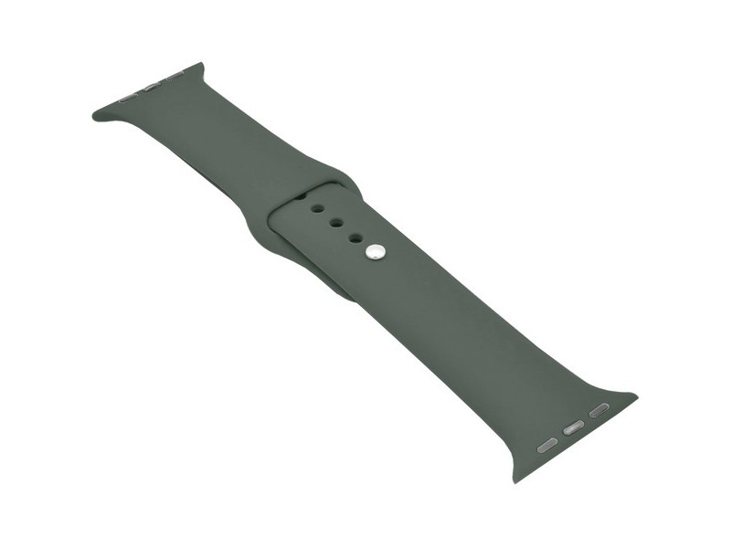 Аксессуар Ремешок Krutoff для APPLE Watch 38/40mm Silicone Dark Olive 03140