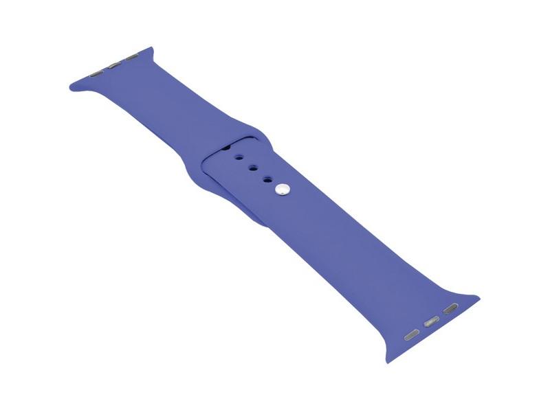 Аксессуар Ремешок Krutoff для APPLE Watch 38/40mm Silicone Royal Blue 03139