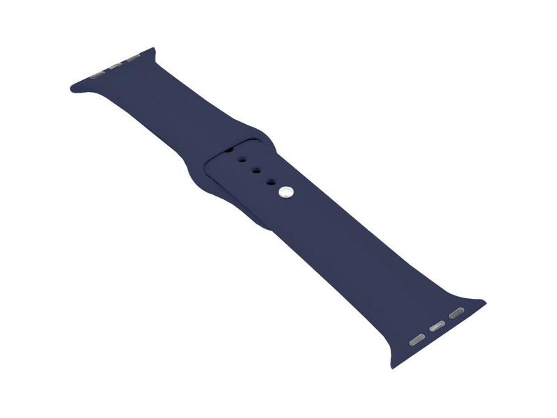 Аксессуар Ремешок Krutoff для APPLE Watch 38/40mm Silicone Midnight Blue 03111