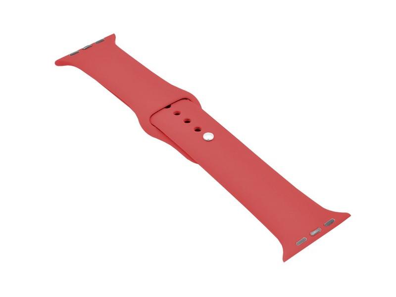Аксессуар Ремешок Krutoff для APPLE Watch 38/40mm Silicone Red 03103