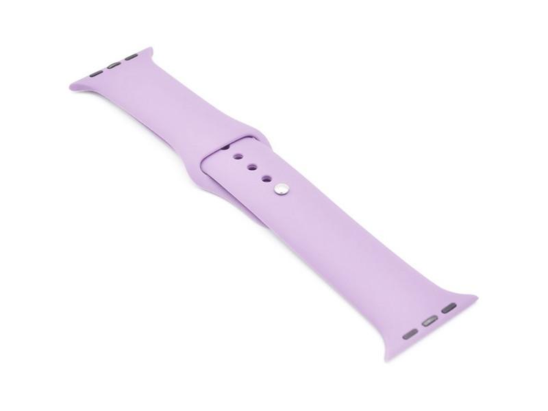 Аксессуар Ремешок Krutoff для APPLE Watch 38/40mm Silicone Purple 03101