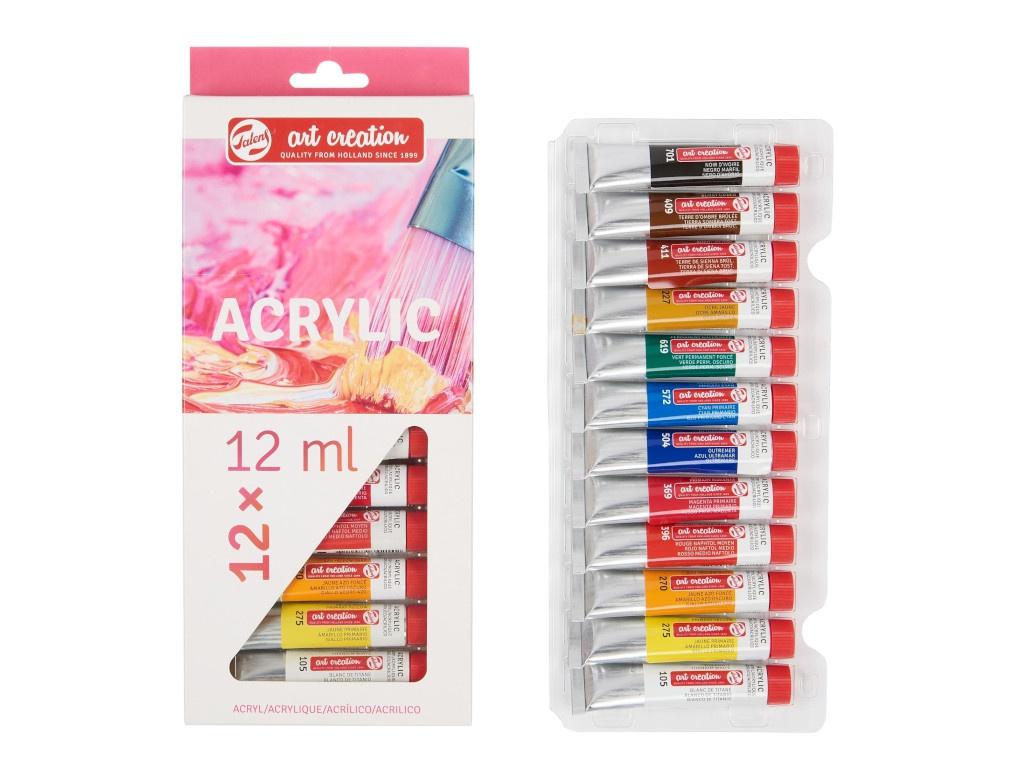 Краски акриловые Royal Talens Art Creation 12 цветов 9021712M