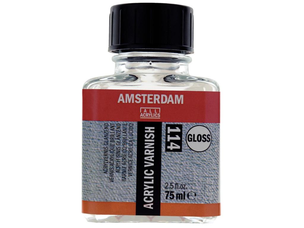 Лак для акрила Royal Talens Amsterdam 114 Глянцевый 75ml 24288114