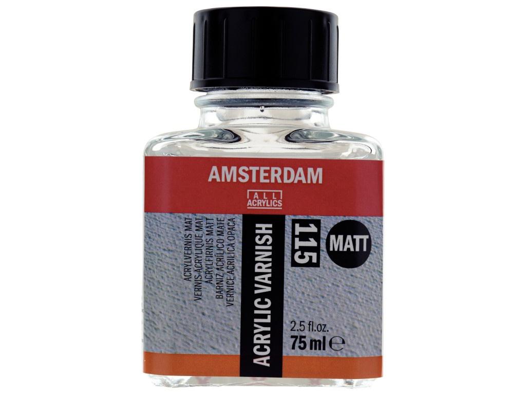 Лак для акрила Royal Talens Amsterdam 115 Матовый 75ml 24288115