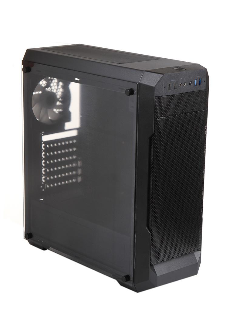 Корпус Cougar MX331 Mesh-G без БП Black