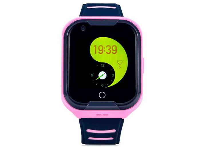 Smart Baby Watch Wonlex KT11 Pink