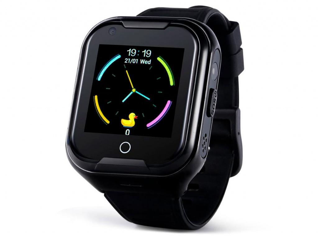 Smart Baby Watch Wonlex KT11 Black makibes x5plus smart watch black