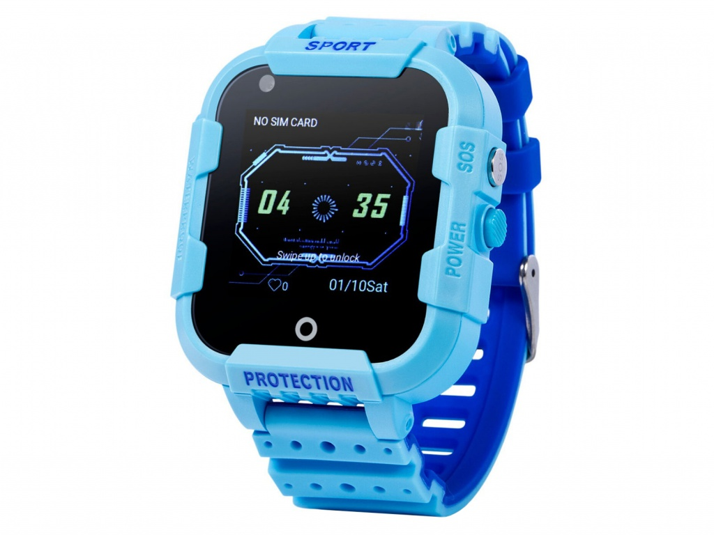 Smart Baby Watch KT12 Blue