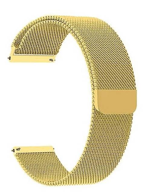 Аксессуар Универсальный ремешок Lyambda 22mm Capella Gold DS-GM-01-22-GL