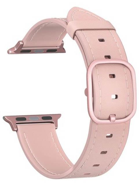 Аксессуар Ремешок Lyambda для APPLE Watch 38/40mm Leather Maia Pink DSP-02-40