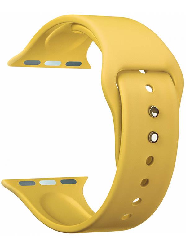 Аксессуар Ремешок Lyambda для APPLE Watch 42/44mm Altair Yellow DS-APS08-44-YL аксессуар ремешок lyambda для apple watch 42 44mm alioth black yellow ds aps01 21 44 yl
