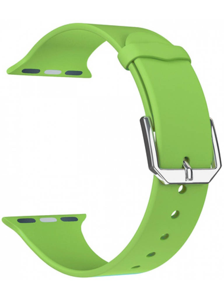 Фото - Аксессуар Ремешок Lyambda для APPLE Watch 38/40mm Alcor Green DS-APS08C-40-GN ремешок lyambda alcor для apple watch голубой ds aps08c 44 bl
