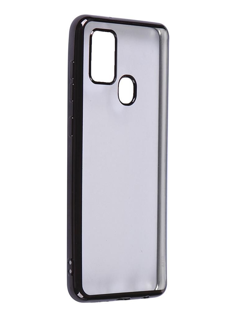 Чехол iBox для Samsung Galaxy A21S Blaze Silicone Black Frame УТ000020477