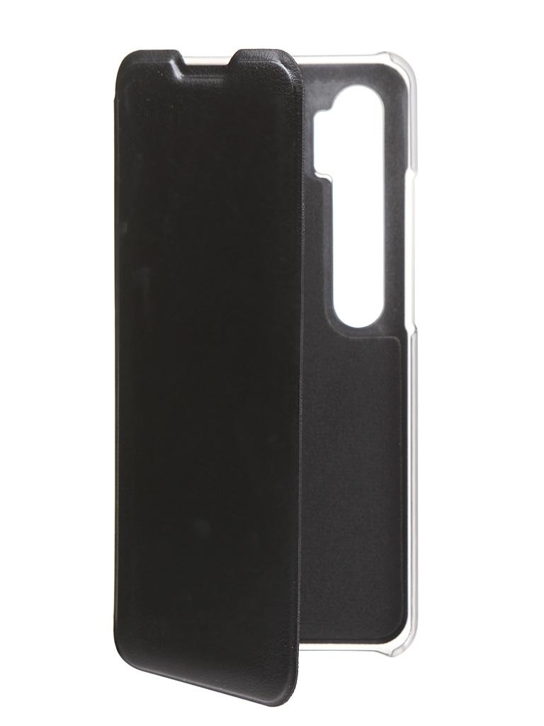 Чехол Red Line для Xiaomi Mi Note 10 Lite Book Cover Black УТ000020183