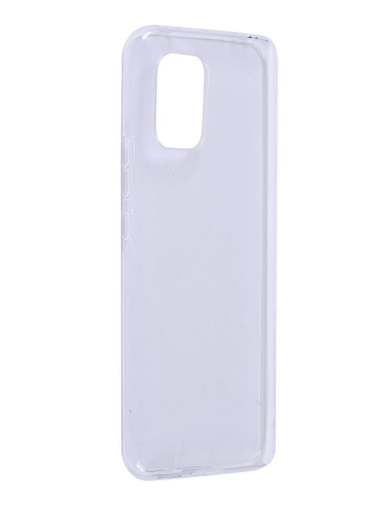 Чехол iBox для Xiaomi Mi 10 Lite Crystal Silicone Transparent УТ000020558