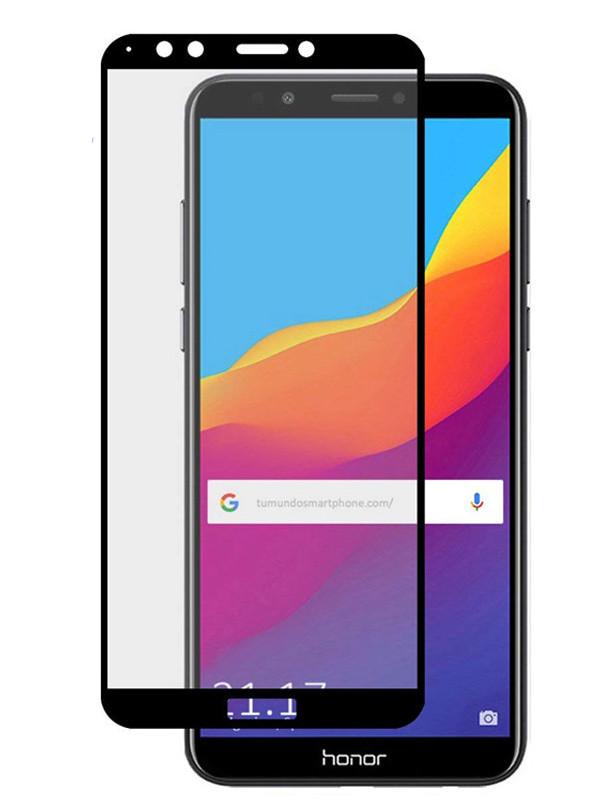 Защитное стекло mObility для Honor 7A Prime Full Screen Glue Black УТ000021156