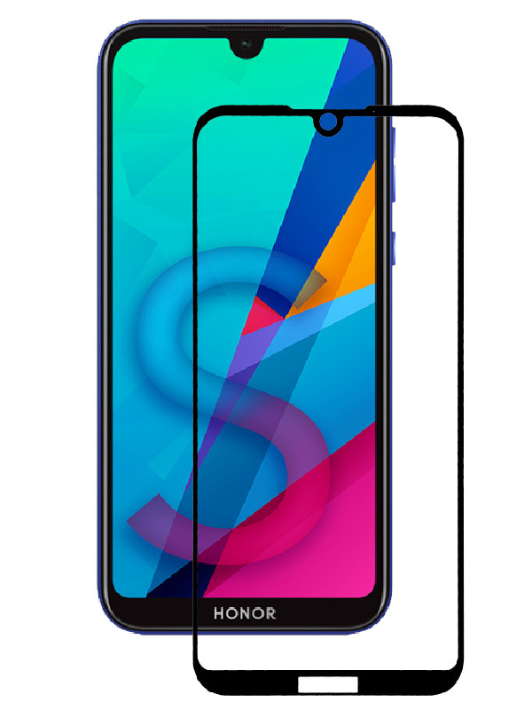 Защитное стекло mObility для Honor 8S Prime Full Screen Glue Black УТ000021157