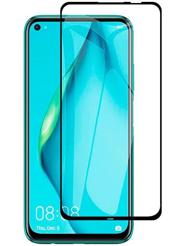 Защитное стекло mObility для Huawei P40 Lite E Full Screen Glue Black УТ000021160